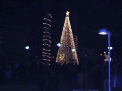 X-mas tree in Samos