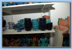 The potter Vagelis make different things