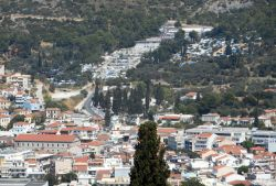 Samos Town, refugee center
