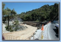 Road work and new bridge by Kedros