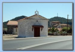 The church at Tsarli
