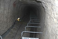 Eupalinos tunnel