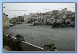again heavy rain