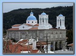 Kokkari Church - new colours!!