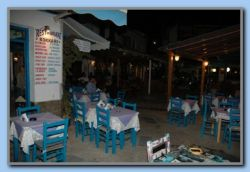 Kokkari by night Platia