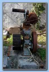 Old engine by the well