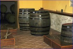 Many interesting tools and old parts from the Samos wine production.