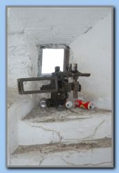 Inside w. the mounting for machine gun
