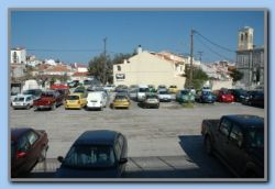 Apporx. 15 rental cars parked the whole winter.