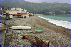 The 'Spring-cleaning' of the beach will soon begin.