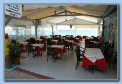Restaurant Meravilia's new furniture. Now there is 1 restaurant in Kokkari with really good chairs!