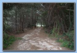 Down the small road and to the right