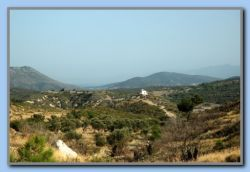 On another top - a look down to Prof. Elias w. Samos & Zervou in background