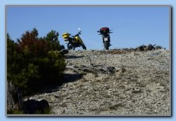 On the way down we entered a nearby top 500 m. SW of Prof. Ilias