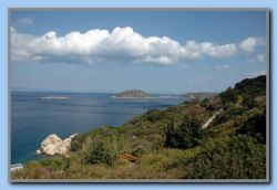 From the road between Samos & Nisi