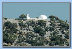Church on top og the island. No other buildings!